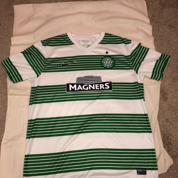 Nike Other - Nike Celtic FC 2013-2014 authentic Home Shirt!